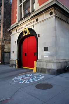 Hook and Ladder 8 Firehouse (from Ghostbusters fame)