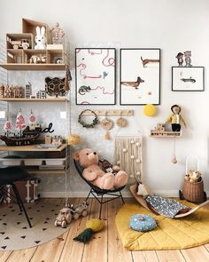 And it's already weekend! how fast has the week passed? I should now finally start to redesign this room, before Childrens Room Decor, Kids Decor, Girl Room, Girls Bedroom, Creative Kids Rooms, Toddler Playroom, Playroom Ideas, Kid Spaces, Room Inspiration