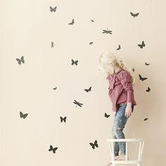 Ferm Living Wallsticker Mini Butterflies