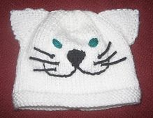9d3287e29e2 Ravelry  Cat   Dog Beanies   Hats pattern by Rian Anderson no pattern