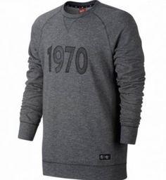 PSG 16-17 Season 1970 Gray Soccer Sweater [J123]