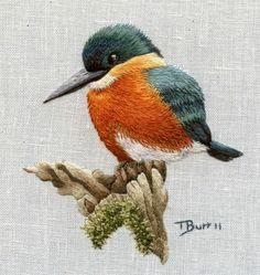 """Милые сердцу штучки: Вышивка гладью: """"Trish Burr (ЮАР) о своей вышивке и о себе"""""""