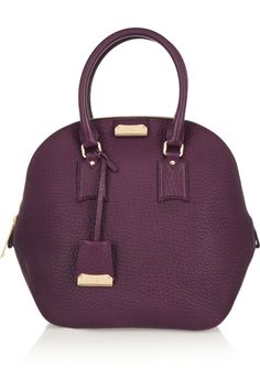 Burberry Shoes & Accessories|Orchard medium textured-leather tote