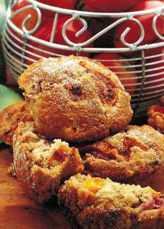 Tamarillo And Cinnamon Muffins Recipe Fruit Recipes, Sweet Recipes, Whole Food Recipes, Cake Recipes, Cooking Recipes, Cinnamon Muffins, Savory Muffins, Tomatillo Recipes, Sweets Cake