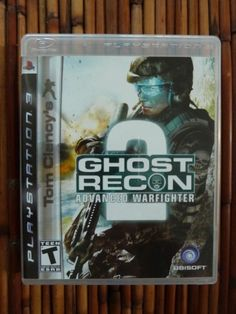 Ghost Recon 2 PS3 Complete with Manual Video Game Never Played Buy It Now on Ebay $12.99 Free Shipping Vintage Assets