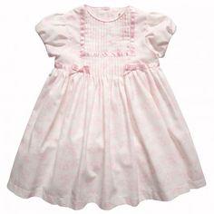 bdc1bc5cfe012 Abella Girls Ivory   Pink Toile du Jouy Print Dress at Childrensalon.com