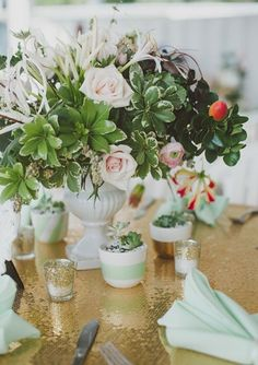 Refreshing, tender, exquisite and very relaxing – that's mint decor for your wedding! That's one of the hottest colors for a wedding theme and I know why – it's so sweet and magnetic!
