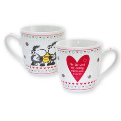 sheepworld Tasse »Mit Dir« http://shop.sheepworld.de/shop/nach-Serien-Motive/Mit-Dir/Tasse-Mit-Dir.html