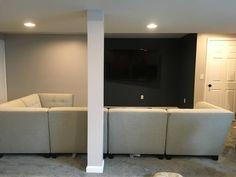 Newly finished basement