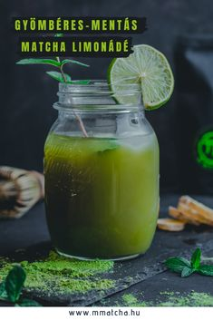 Matcha Lemonade Recipe, Smoothie Recipes, Smoothies, Mint Lemonade, Homemade Lemonade, Cooking Recipes, Healthy Recipes, Perfect Food, Healthy Lifestyle