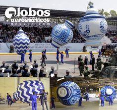 globos para desfile. globos para desfile.
