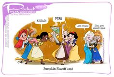 Pocket Princesses 223: Pumpkin Playoffs Please reblog, don't repost, edit or remove captions