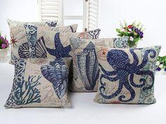 burlap sofa throw pillows decorative vintage cushion cushions home decor pillows cojines capa de almofada  pillowcase #Affiliate