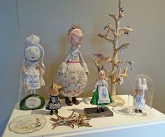 """Hippystitch: """"Away, Away"""" - Julie Arkell at the Harley Gallery"""