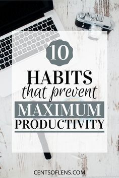 Do you struggle with productivity? Find out which 10 habits are preventing you from achieving maximum productivity! #productivity #productivityhacks #productivitytips #lifehacks #getstuffdone #productivehabits Leadership Strategies, Effective Leadership, Becoming A Better You, Short Term Goals, College Survival, Productivity Hacks, College Tips, Learning To Be, Mindful Living
