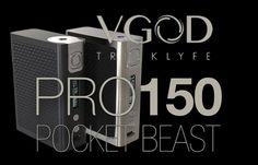 VGOD PRO150 TC & VGOD TrickTank Pro RDTA Double Feature Review by Spinfuel VAPE Magazine Kiley Phillips