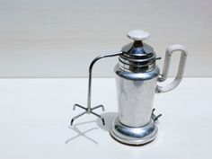 Vintage Italian electric coffee maker, 50/60s brand BETA, made in Italy, antique coffee pot capacity 4 cups, housewares collectibles.    Rare Italian