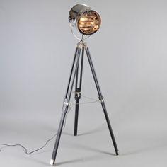 Vloerlamp Tripod Surveyor 1 - Lampenlicht.nl