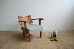 Gyula Kaesz bauhaus armchair (artKRAFT Original Industrial Furniture) Wishbone Chair, Industrial Furniture, Bauhaus, Recliner, Accent Chairs, Armchair, Lounge, The Originals, Home Decor