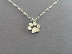 Paw Print Pendant Necklace  Need one just like it? We got you covered!