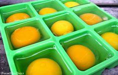 Freezing fresh eggs. Wonderful tips!