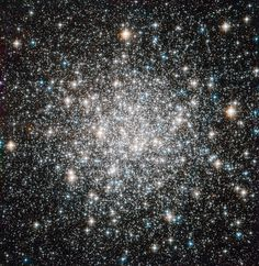 Messier 68. One of the 150 globular clusters that surround the Milky Way. They contain some of the oldest stars in the galaxy, up to ten billion years old. (Credits: Credits: ESA/Hubble & NASA)