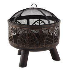 La Hacienda Alexis Steel Fire bowl - B&Q for all your home and garden supplies and advice on all the latest DIY trends Fire Pit Sets, Diy Fire Pit, Bbq Grill Set, How To Cook Burgers, Chiminea, Laser Cut Steel, Pedestal Stand, Patio Heater, Fire Bowls