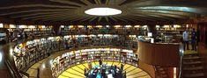 Las bibliotecas más bonitas de Madrid - La primera biblioteca circular de España, la del instituto del patrimonio cultural de España