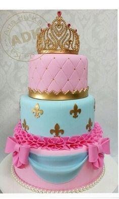 C Baby Cakes, Girl Cakes, Cupcake Cakes, Beautiful Birthday Cakes, Beautiful Cakes, Amazing Cakes, Cake Designs For Girl, Cool Cake Designs, Pretty Cakes