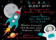 outer space invite