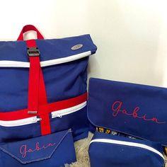@fildecobyvirginie sur Instagram: Aujourd'hui c'est la rentrée 😊 voici ce que j'ai cousu pour 2 de mes loulous ➡️ pour Gabin :1 sac à dos, c'est le model Troïka de #sacôtin…