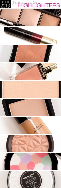 Top 10 of 2013: Best Highlighters & Finishing Powders