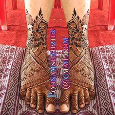 "Photo from Poonam Mehendi Artist ""Portfolio"" album Front Mehndi Design, Henna Tattoo Designs Simple, Legs Mehndi Design, Back Hand Mehndi Designs, Latest Bridal Mehndi Designs, Mehndi Designs 2018, Mehndi Designs For Girls, Mehndi Design Photos, Unique Mehndi Designs"