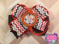 A personal favorite from my Etsy shop https://www.etsy.com/listing/256087735/pinwheel-hair-bow-chevron-hair-bow