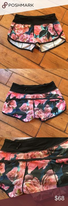 FINAL PRICE Size 2 Secret garden shorts Great condition lululemon athletica Shorts