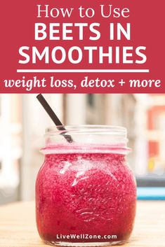 Using beets in smoothies is a quick and delicious way of enjoying the benefits of beets, especially its anti inflammatory properties. This post shows you how to add beets to your healthy anti inflammatory smoothies and anti inflammatory diet. Keto Smoothie Recipes, Smoothie Ingredients, Healthy Smoothies, Smoothies With Beets, Beet Recipes Healthy, Juice Recipes, Diabetic Recipes, Healthy Drinks, Healthy Eating