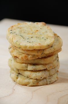 Reggiano Thyme Crackers. Next to rosemary, thyme is right up there with my fav herbs:)