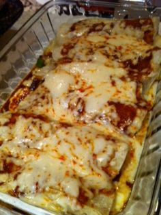 Beef Enchiladas with Red Sauce...is it weird that I'm craving this? haha yumm!