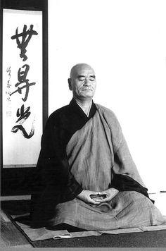 Taisen Deshimaru Roshi (1914-1982)