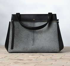 Celine Edge Bag in grey flannel ..... mmmm....