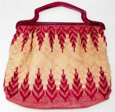 Vintage Knitting Bag