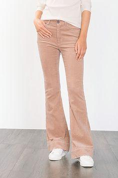 EDC / Pantalon velours côtelé coton stretch