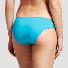 Women's Modern Double Strap Hipster Bikini Bottom Island Blue XL - Mossimo