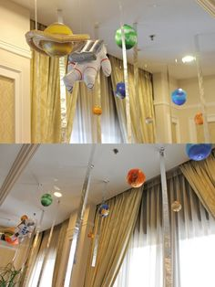 Space Birthday Party: Chuzai Living