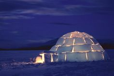 Learn how to build an igloo from NOVA!