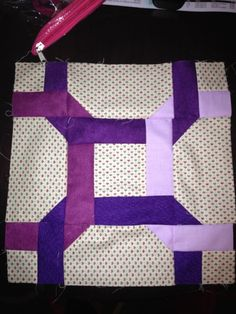 NYC Metro MOD Quilters: Bee block for Kim