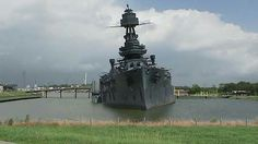 Uss texas the last remaining battleship was listing and has a leak.