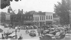 #ThrowbackThursday this is the southeast corner of the square in 1947.