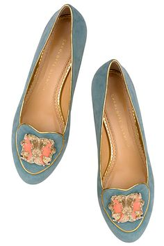Charlotte Olympia Zodiac shoes, each has your sign on the front | mori girl style