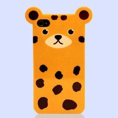 Shin Han_iPhone 4/4S Leopard Case